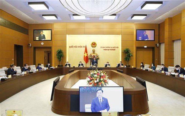 National Assembly Standing Committee's 3rd session to open on September 13 hinh anh 1
