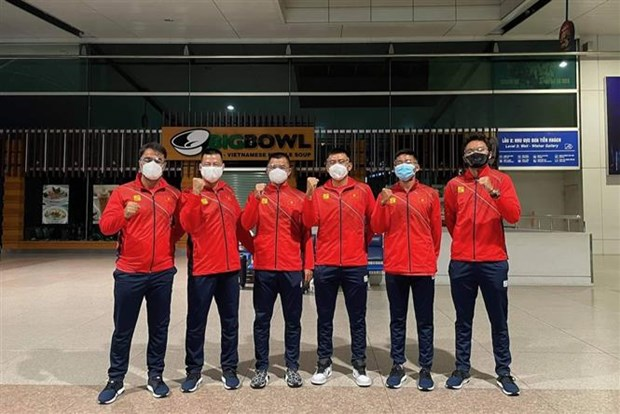 Vietnamese tennis team to compete at Davis Cup Group events hinh anh 1