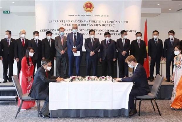 European media highlights Vietnamese NA leader's visit to Europe, Belgium hinh anh 1