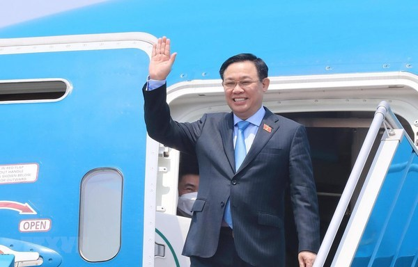 NA leader's European trip leaves hallmarks of parliamentary, vaccine diplomacy hinh anh 1