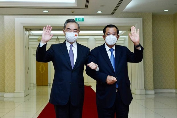 Cambodia, China agree to strengthen cooperation hinh anh 1