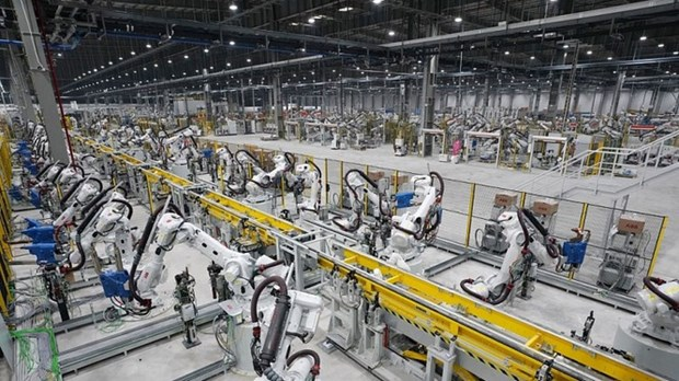 Indonesia's manufacturing value added reaches 281 billion USD hinh anh 1