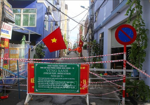 """Da Nang turns wards, communes into """"fortresses"""" in COVID-19 combat hinh anh 1"""