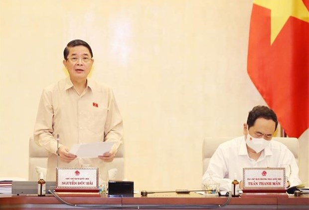 NA Standing Committee discusses State Audit Office's performance, work plan hinh anh 1