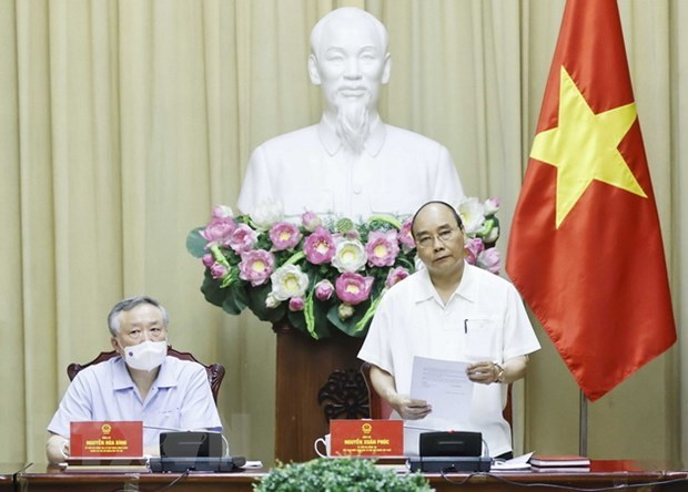 President holds working session on handling capital punishment dossiers hinh anh 1