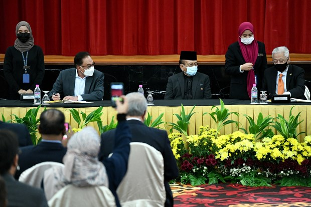 Malaysian government and opposition Pakatan Harapan ink 'historic' MOU hinh anh 1