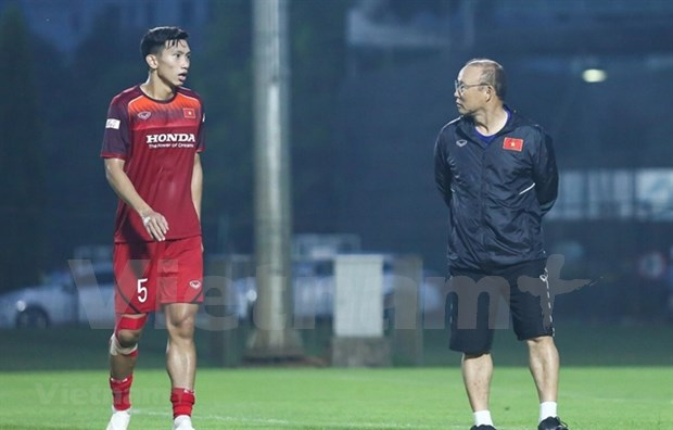 Van Hau to miss rest of World Cup Qualifiers due to injury hinh anh 1