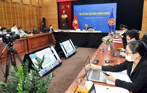 AEM-CER consultations discuss supply chain improvement, sustainable growth hinh anh 1