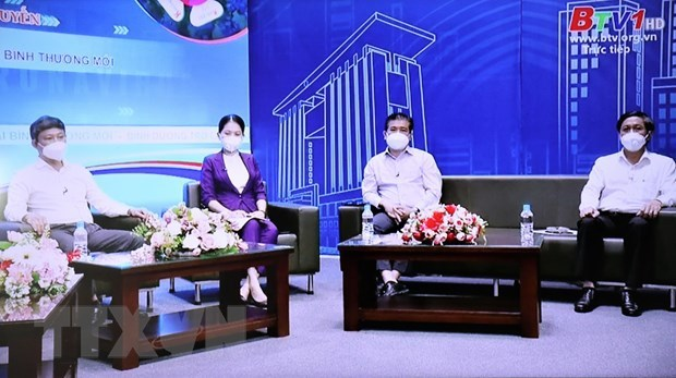 Pandemic prevention measures needed during new normal: Binh Duong leaders hinh anh 2