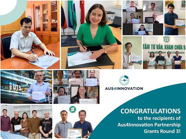 Four Vietnamese digital transformation projects receive Australian funding hinh anh 1