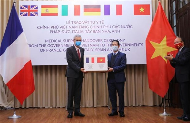 The embassy marks a series of Vietnamese events in France hinh anh 2