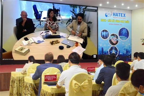 Online event connects technology demand-supply between Vietnamese, Dutch firms hinh anh 1