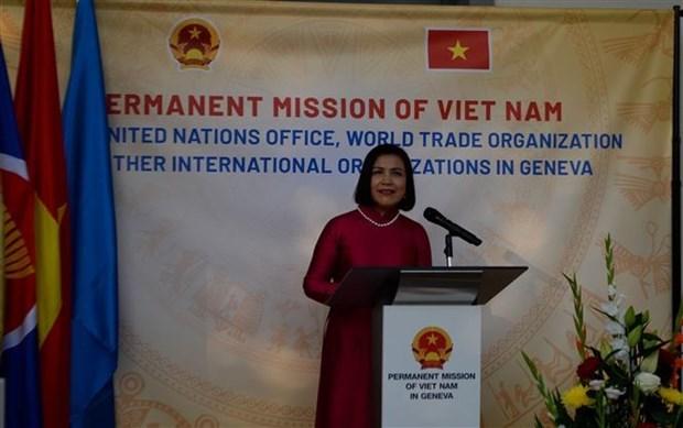 Vietnam's National Day celebrated in Geneva hinh anh 1