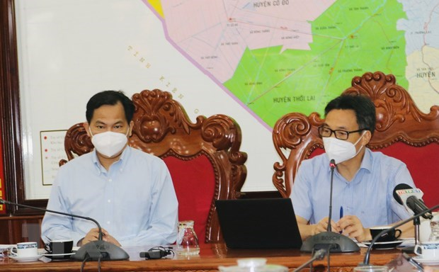 Deputy PM inspects pandemic prevention and control in Tra Vinh, Can Tho hinh anh 2