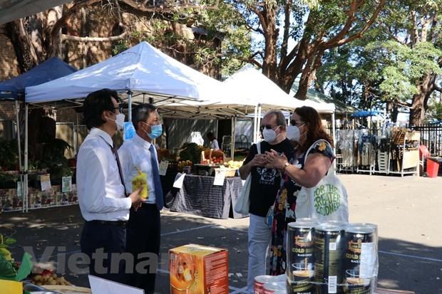 Australian consumers taste Vietnamese farm produce hinh anh 1
