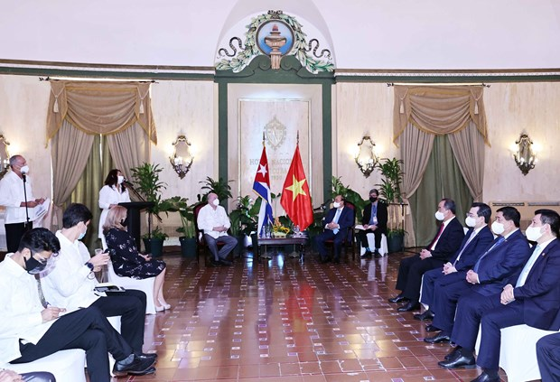 Vietnam to promote projects in Cuba's Mariel Special Development Zone: President hinh anh 2