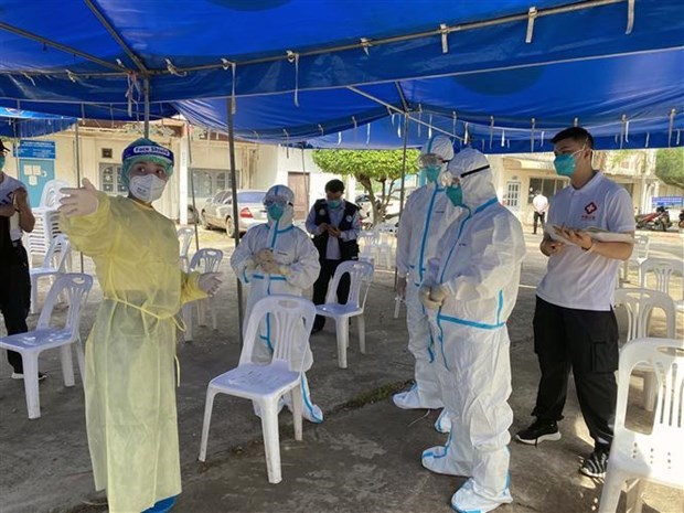 Laos records new cases of Delta Plus variant of SARS-CoV-2 virus hinh anh 1