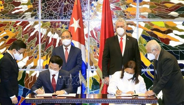Vietnam, Cuba enhance collaboration in information-communications hinh anh 1