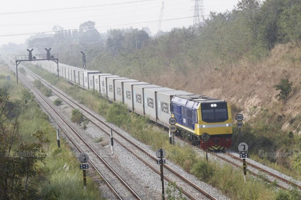 Thailand promotes rail connection to boost foreign trade hinh anh 1