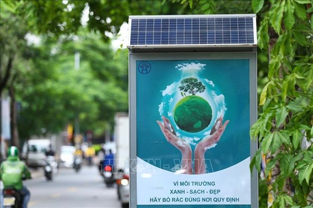 """Vietnam responds to """"Clean up the world"""" campaign hinh anh 1"""