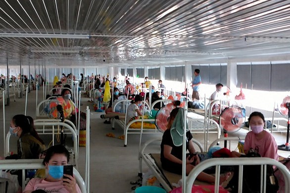 Dong Nai puts into use largest temporary COVID-19 treatment hospital hinh anh 1