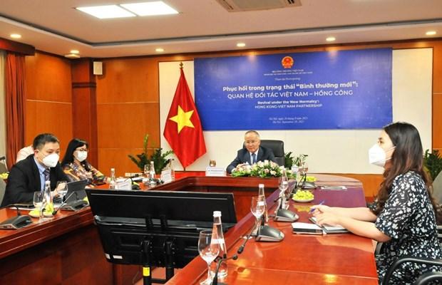 Webinar looks to bolster Hong Kong-Vietnam partnership amid COVID-19 hinh anh 1