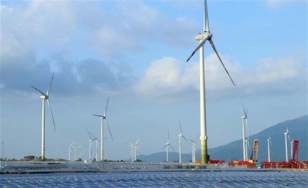 Wind power project No.5 Ninh Thuan put into commercial operation hinh anh 1