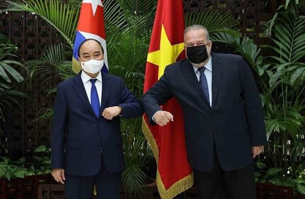 President Nguyen Xuan Phuc wraps up Cuba visit hinh anh 1