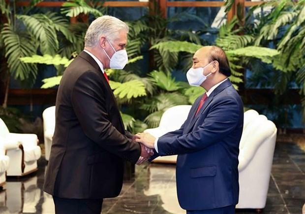 President Nguyen Xuan Phuc wraps up Cuba visit hinh anh 2