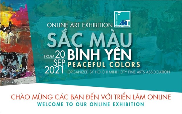 Online art exhibition encourages people's spirit during pandemic hinh anh 1