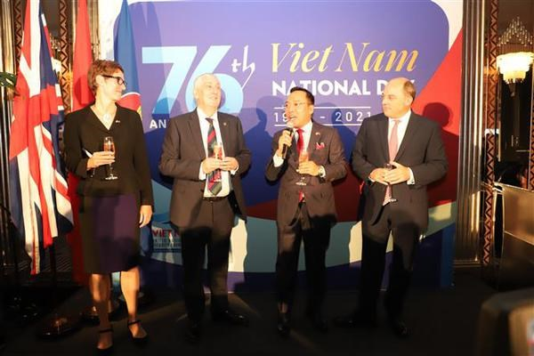 National Day celebration held in London hinh anh 1