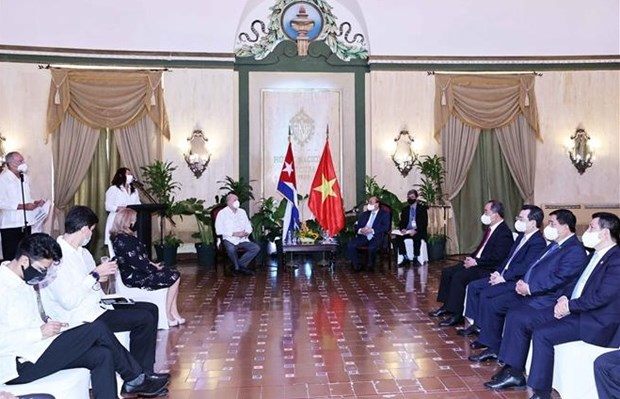 Vietnam, Cuba seek to enhance efficiency of Inter-Government Committee mechanism hinh anh 1