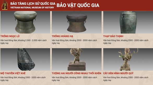 National Museum of History transforms itself with digital technology application hinh anh 1