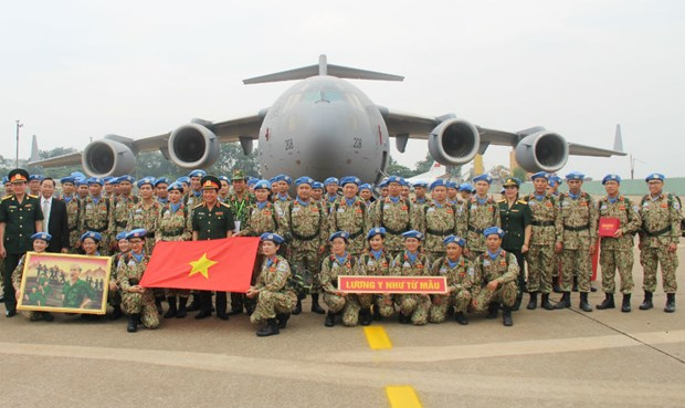 Vietnam's engagement in peacekeeping operations receives UN's high evaluation: Official hinh anh 2