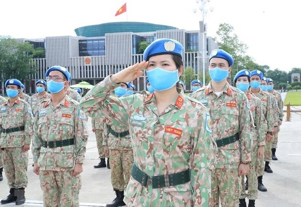 Vietnam's engagement in peacekeeping operations receives UN's high evaluation: Official hinh anh 1