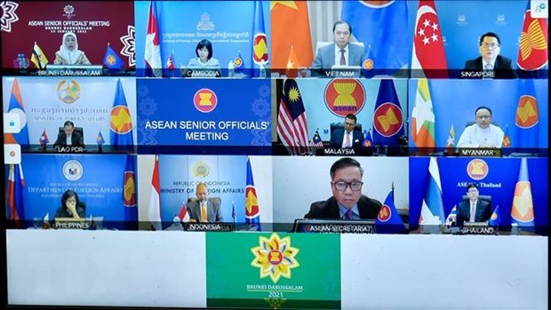 Vietnam active at ASEAN Joint Consultative Meeting hinh anh 1