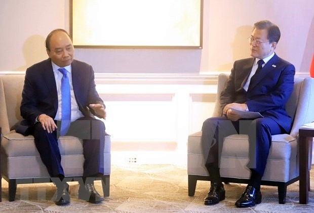 UNGA 76: President meets foreign leaders, WB President in New York hinh anh 1