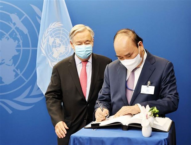 Vietnam always backs UN's central role: President hinh anh 3