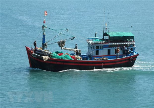 98.9 percent of fishing vessels in Ben Tre install monitoring devices hinh anh 1