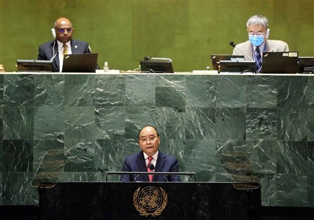 President's statement at general debate of UNGA's 76th session hinh anh 2