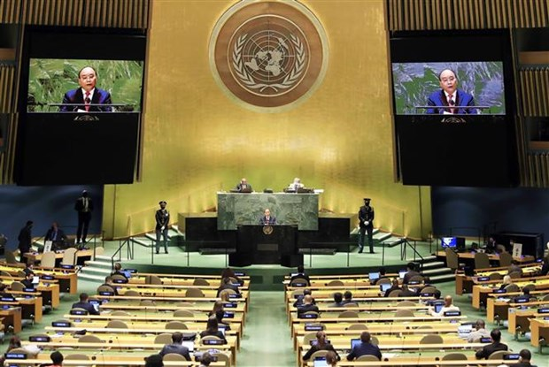 President's statement at general debate of UNGA's 76th session hinh anh 1