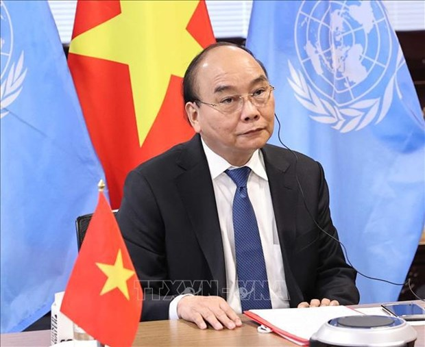 President applauds establishment of global health security financial intermediary fund hinh anh 1