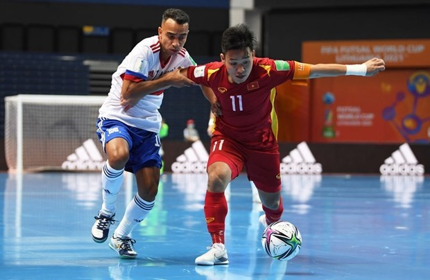 Vietnam loss to Russia in Futsal World Cup knock-out stage hinh anh 3