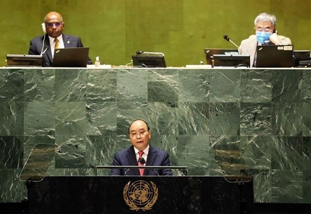 Vietnam cooperates with nations to prevail over pandemic, build peaceful, prosperous world: President hinh anh 1