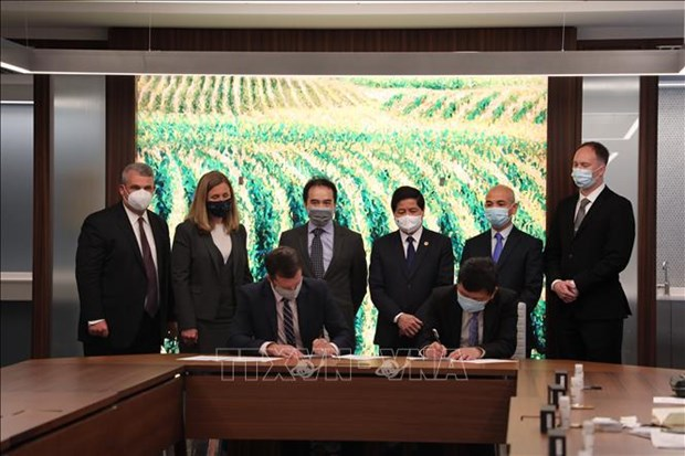 Vietnam, US step up cooperation in agriculture hinh anh 1