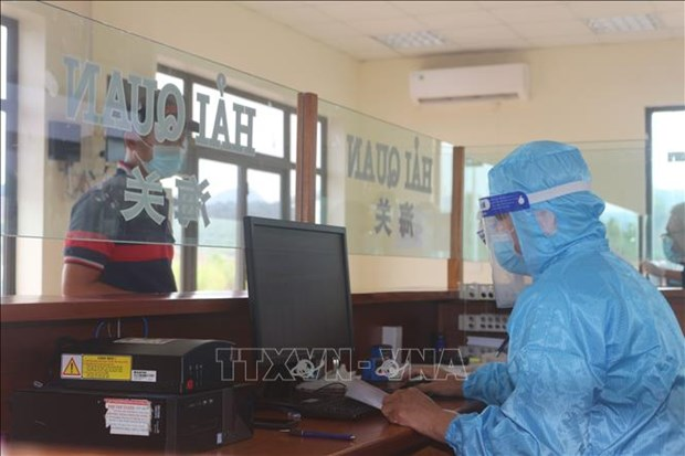 Customs clearance time for exports shortens hinh anh 1