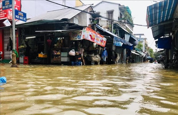 Typhoon Dianmu wreaks havoc in many localities hinh anh 1