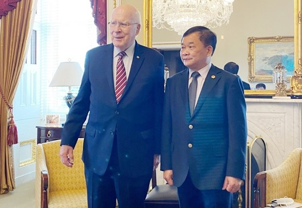 Vietnam, US step up cooperation in tackling war consequences hinh anh 1