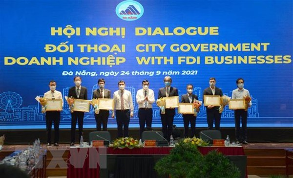 FDI businesses contribute ideas for production restoration in Da Nang hinh anh 1