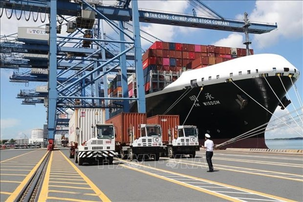 Vietnam's seaports handle over 537.7 million tonnes of goods in nine months hinh anh 1